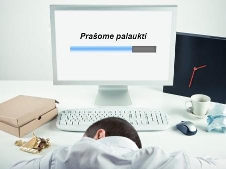 Lėtai dirbantis kompiuteris
